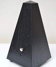 Load image into Gallery viewer, Wittner Black Woodgrain Metronome Back