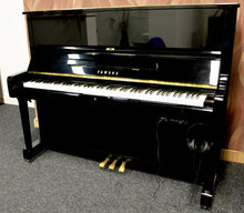 Load image into Gallery viewer, Yamaha U1 fitted with adsilent system in black high gloss finish