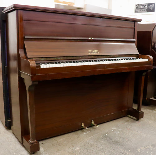 Allison piano in flame mahogany