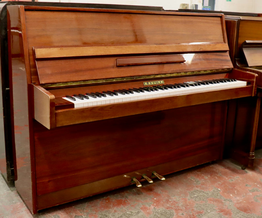 B Squire studio Upright piano made in Europe