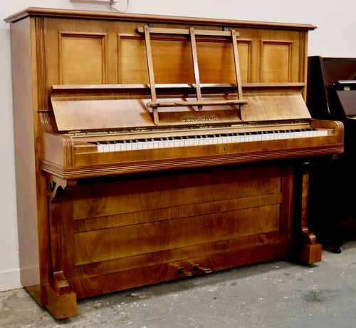 Bechstein 9 bleached Rosewood Upright Piano