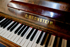 Bechstein 8 Concert upright Piano in rosewood