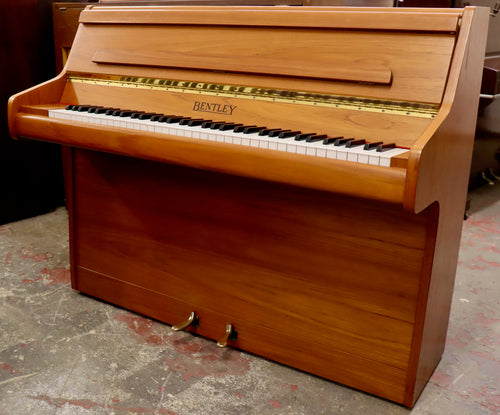 Bentley mini Upright piano in teak finish