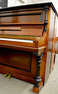 Blüthner Model B Upright piano in rosewood finish