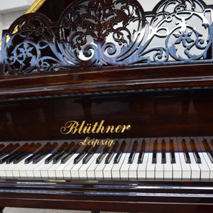 Blüthner Model 7 Grand Piano in Mahogany Finish