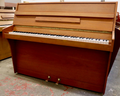 Chappell Upright piano in mid century design