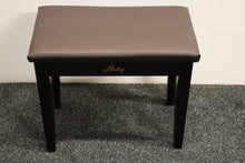 Load image into Gallery viewer, Dark Mahogany Piano Stool With Storage