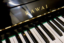 Load image into Gallery viewer, Kawai CX4 Upright in black high gloss