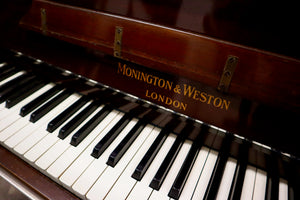 Monington & Weston Art Deco Upright Piano