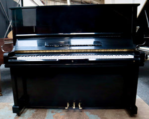 Samick SU131 Upright Piano in black high gloss