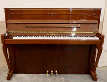Load image into Gallery viewer, Schimmel 116 Upright piano in mahogany with cabriolet legs