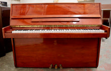 Load image into Gallery viewer, W Streicher 110 Upright piano in polished mahogany
