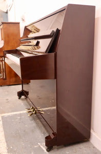 Waldstein 109 Upright piano in polished mahogany