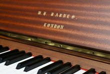 Load image into Gallery viewer, W.H. Barnes Upright Piano in Mahogany Cabinet