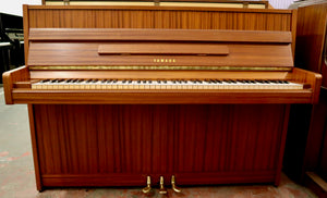 Yamaha M1J studio piano in  mahogany