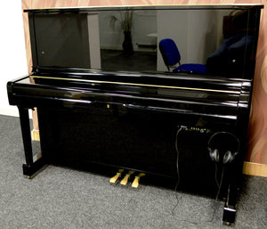 Yamaha U1 fitted with adsilent system in black high gloss finish