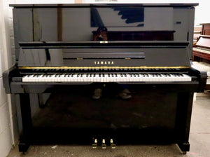 Yamaha U2 in black gloss finish
