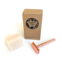 Lataa kuva Galleriaan, Safety Razor Kit Pink Flamingo