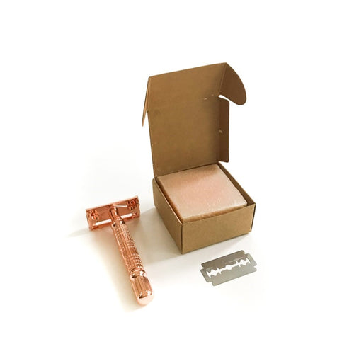 Safety Razor Kit Pinkki