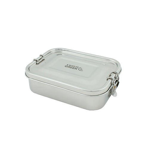 Leak Proof Stainless Steel Lunch Box, 675ml