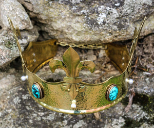 REGIUS | Medieval Brass Crown-Esoterico Shop-Esoterico Shop