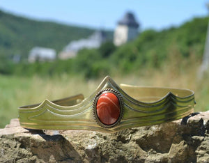 GRACIA | Medieval Gothic Jasper Crown-Esoterico Shop-Esoterico Shop