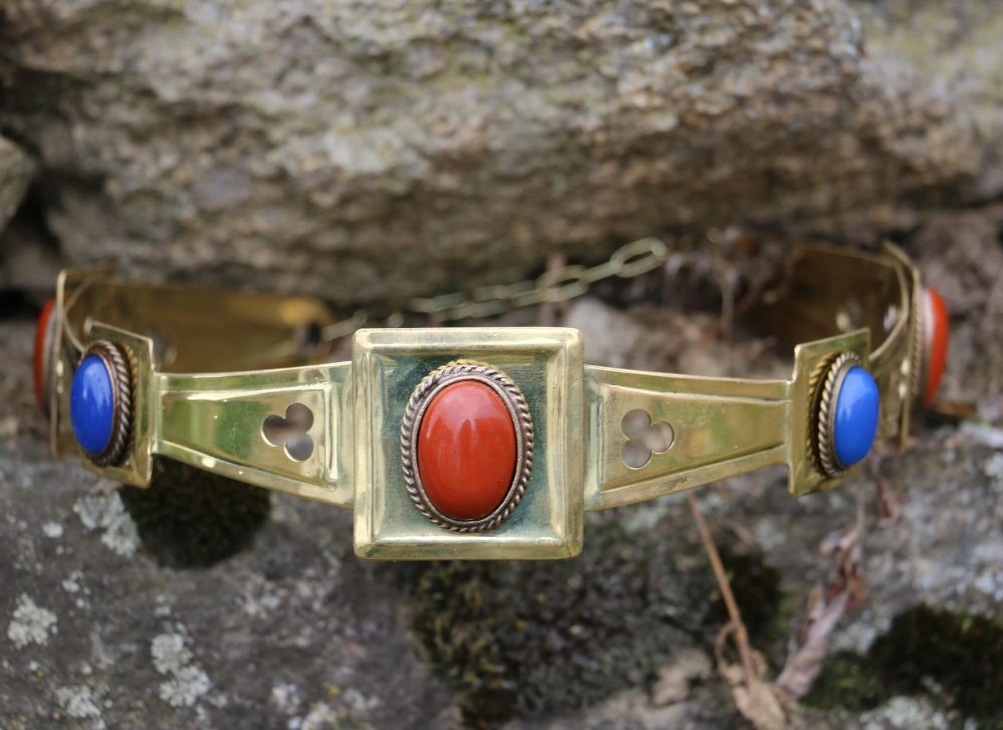 MARION | Medieval Brass Crown-Esoterico Shop-Esoterico Shop