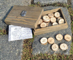 RUNE | Handmade Wooden Runes with Box-Esoterico Shop-Esoterico Shop