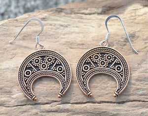 LUNITSA | Great Moravian Empire Bronze Earrings-Esoterico Shop-Esoterico Shop