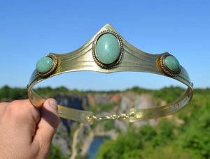 CARDIOLA | Aventurine Crown-Esoterico Shop-Esoterico Shop