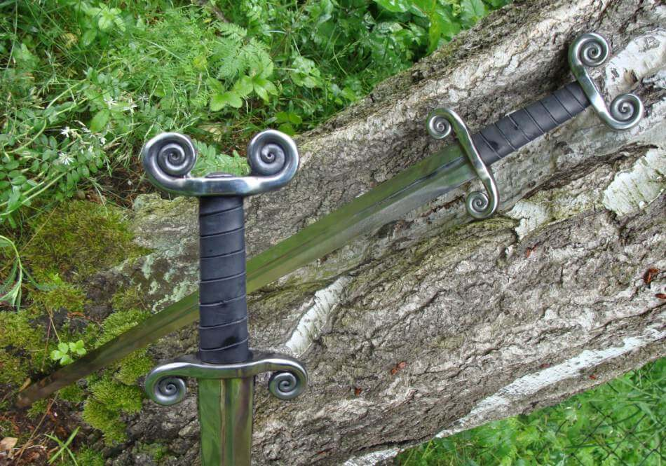 CELTIC | Battle Ready Sword-Esoterico Shop-Esoterico Shop