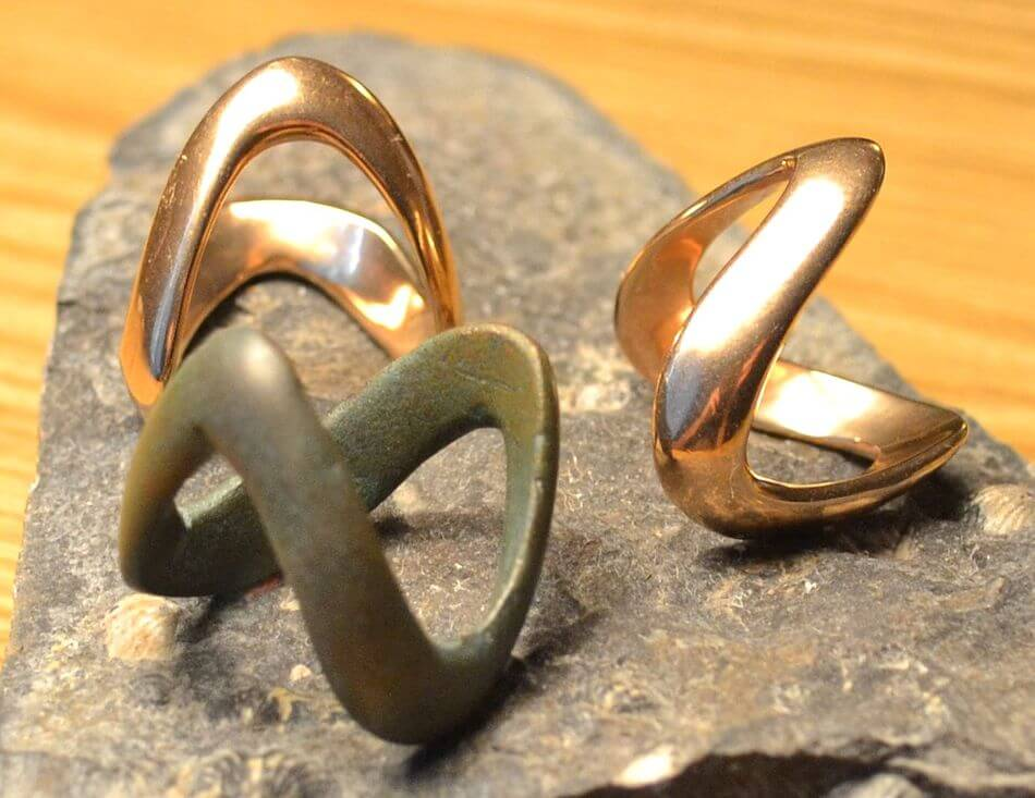 CELTIC | La Tene Culture Bronze Ring-Esoterico Shop-Esoterico Shop