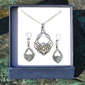 CELTICA | Sterling Silver Jewelry Set-Esoterico Shop-Esoterico Shop