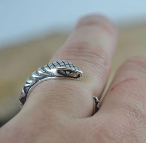 SERPENT | Sterling Silver Ring-Esoterico Shop-Esoterico Shop