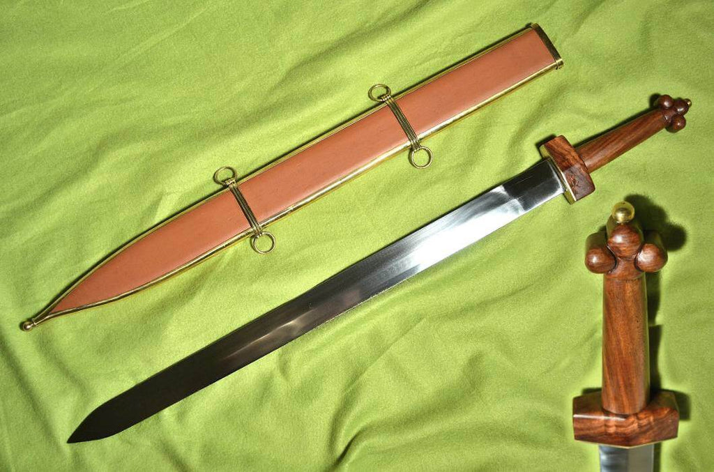 SPATHA | Celtic Sword with Scabbard-Esoterico Shop-Esoterico Shop