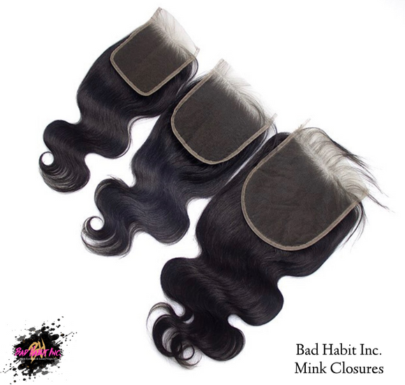 Virgin Mink Closures (Natural Color 1B) (1792430669887)