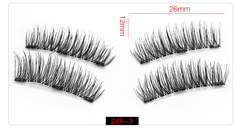 Magnetic Lashes™ - Reusable Magnetic Eyelashes with Applicator - My Beauty Mantra