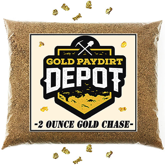 *BOGO* Gold Paydirt Depot - '2 OUNCE GOLD CHASE' - Gold Paydirt Panning Concentrates
