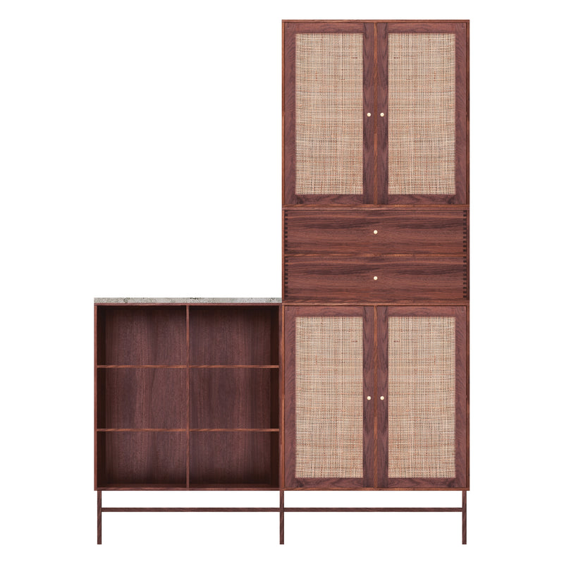 Wardrobe Incl. Marble topplate