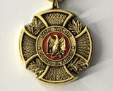 Covid-19 Valor Medal (Color)