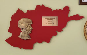 Afghanistan Service Plaque