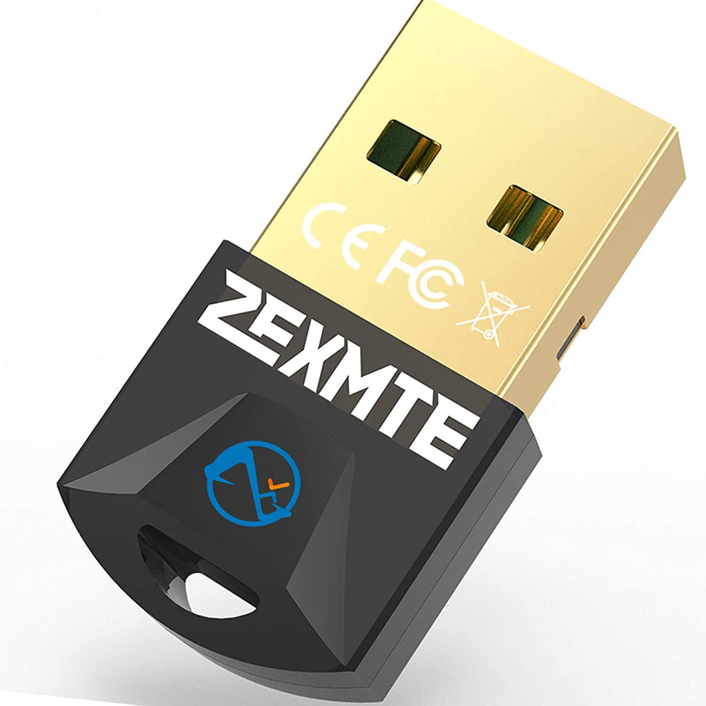 Zexmte USB Dongle Bluetooth 5.0 Adapter for PC