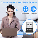 Zexmte USB Bluetooth 5.0 Adapter