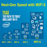 Zexmte WiFi 6 AX200 WiFi Adapter Intel Wireless Network Card
