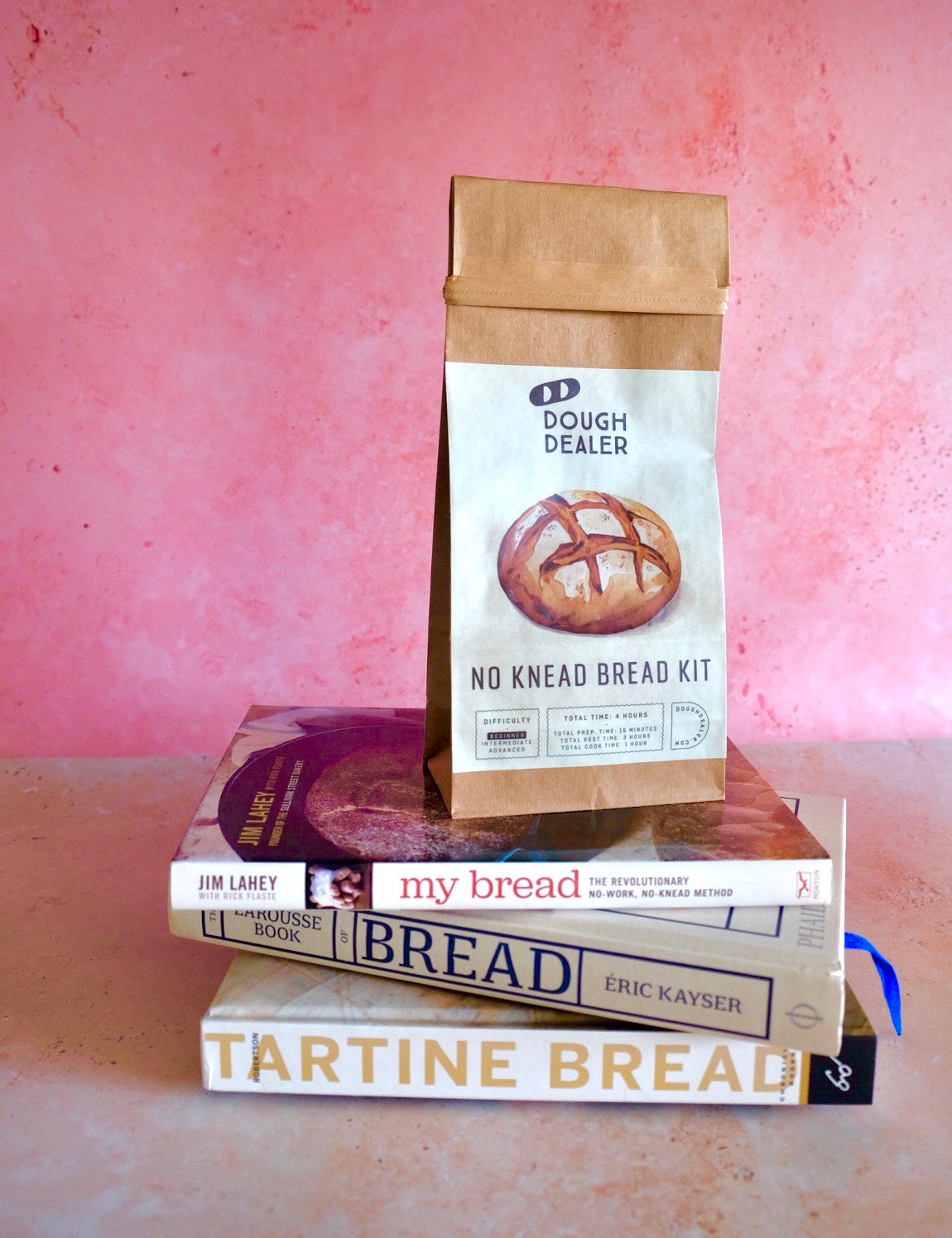 No Knead Bread Kit