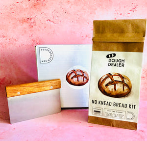 Starter Kit with Bread Kit and Bench Scraper
