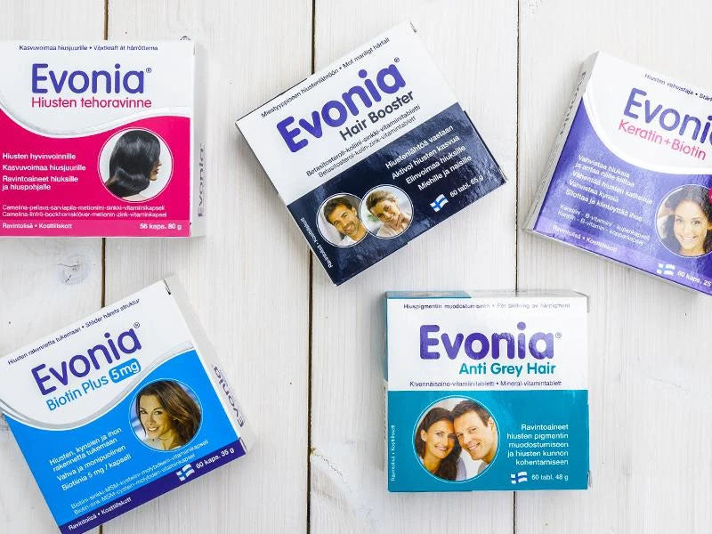 Evonia hair care product line is designed for the wellbeing of your hair