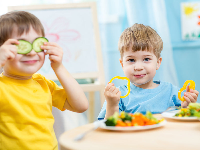 5 tips for encouraging your children to eat more versatile foods