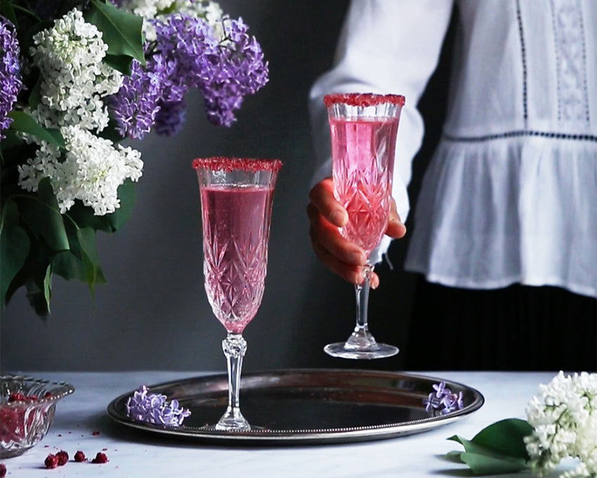 METTÄ Lingonberry xylitol in champagne