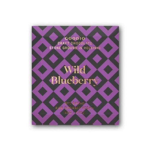 Goodio Organic Chocolate Wild Blueberry
